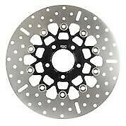 Ebc 10 Button Floater Wide Band Brake Rotor Black Rsd019blk