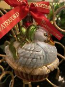 Waterford Holiday Heirlooms Ornament 12 Days Of Christmas 6 Six Geese A Laying