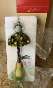Department 56 Krinkles Patience Brewster Pear Tree Topper Ornament Decoration