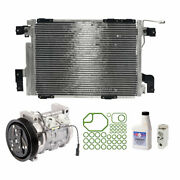 For Chevy Tracker 2.0l 1999-2003 Oem Ac Compressor W/ A/c Repair Kit Csw