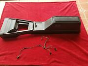 1971-1973 Ford Mustang Cougar Torino Center Console No Cracks Or Repairs