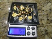 Lot Of Mixed 18k Gold Jewelry 16 Grams For Scrap