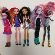 Monster High Lot Of 5 Dolls Some With Loose Joints Mattel Toys