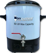 Wax Melter For Candle Making 50 Lb Electric Wax And Soap Melting Pot Machine