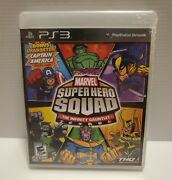 Marvel Super Hero Squad The Infinity Gauntlet - Playstation 3 New Sealed Ps3