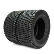 Set Of 2 Lawn Mowers 4 Ply 16x6.50-8 Turf Tires Tubeless Tractor Max Load620lbs