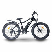 26 Fat Tire 48v 750w Electric E-bicycle With 1 Year Warranty On Parts/labor