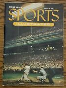 August 16, 1954 Sports Illustrated First Issue 1st Baseball Card Insert