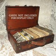 Stereoview Case Stores 150-300 Stereograph Cards Cards Not Included
