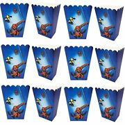 24 Pack Superhero Party Popcorn Boxes, Spiderman Party Supplies Favors For …