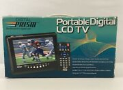7 Portable Digital Lcd Tv By Digital Prism Color Tv W/remote Camping/emergency
