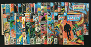 Justice League Of America Vol 1 1960-1987 Lot Of 224-249, Annual 1-3 Lot Of 29