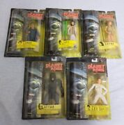 Planet Of The Apes Basic Action Figure Set Of 5 Tomy 2001 Japan [unopened] G6365