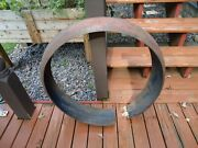 Original 1935 1936 Ford Spare Tire Wheel Cover Ring, Bobber Motorcycle Fender