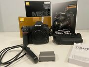Nikon D850 45.7mp Body Only + Mbd18 Battery Grip And Extras