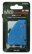 Kato N Scale 24-850 Power Feed Control Switch Free Ship W/tracking New Japan