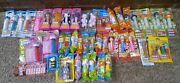 Some Vintage Pez Dispensers - Lot Of 41 - Halloween Christmas Easter Valentine