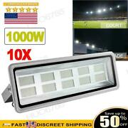 10x 1000w Watts Led Flood Light Lamp Security Outdoor Lamp Spotlights Cool White