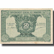 [802543] Banknote French Indo-china 50 Cents Undated 1942 Km91a