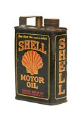 Rare Vintage Minature Shell Motor Oil Can