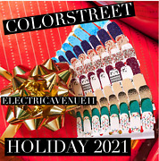 ❄️🎁🎄color Street Holiday Christmas 2021 Preorder Snow What Fun Free Ship❄️🎁🎄