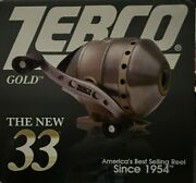 Zebco The New 33 Gold Fishing Reel Zs3872 Spincast 3-bearing 3.61