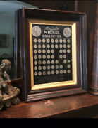 Buffalo Nickel Collection 1913 - 1935 Complete Set  High Quality Set