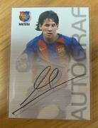 Lionel Messi Rookie Card 12 More Barcelona 0405 Panini