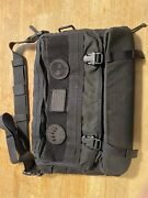 Tad Gear Messanger Bag Black With Extras Triple Aught Design Pdw Rare