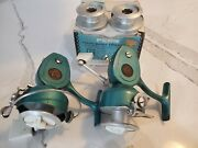2 Penn Spinfisher 722and039s With 1 Original Box 2 Extra Spools Lube/wrench...