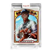 Topps Project70 635 1972 Aaron Judge By Alex Pardee - Attack On Titan - Presale