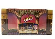 2000 Factory Sealed Vintage Harry Potter Uno Special Edition Card Game Rare
