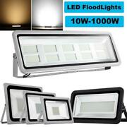 500w Led Flood Light Outdoor Landscape Security Work Lamp Ip65 Cool/warm White