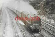 Railway Photo Lms Patriot 45506 The Royal Pioneer Corps Chesterfield 4-6-0 Loco