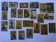 Victorian Trade Cards 1890-1920 Interesting Lot Of 45 P1