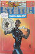Static No. 1 •platinum Edition •first Issue Collector's Item •1993 •dc/milestone