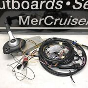 Oem Mercury Concealed Side Mount Control Box And Wire Harness 883710 A02 Lot Tg2
