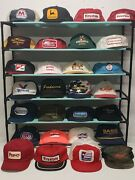 Lot Of 50 K Brand Products Swingster Patch Trucker Hat Vtg Usa Made 70s 80s 90s
