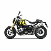 Zard Exhaust Stainless High Mount Slip-on Bmw Rninet Pure 1200cc 2017-2021