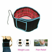 Red Led Light Therapy Pain Relief Laser Waist Wrap Belt Slimming Body Care