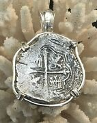 Spice Islands Shipwreck Spanish Treasure Coin Authentic Pirate Piece Of Eight 8r