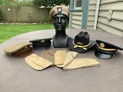 United States Army 10 Hat Collection- Wwii To Modern Era
