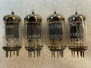 Telefunken Smooth Plate 12ax7 Ecc83 Low Noise Preamp Tubes Matching Code Quad