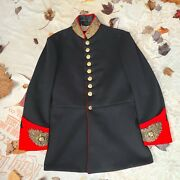 Royal Horse Guard Vintage Antique Blue British Officers Calvary Tunic Coat Army