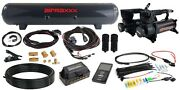 3p Airlift 27685 Pressure Management 3/8 Air Line 580 Blk Air Compressor And Tank