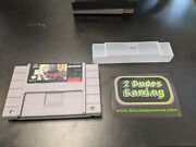 Hagane Super Nintendo Snes Tested Polished Game Only Free Shipping Authentic