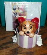 Wdcc Disney A Perfectly Beautiful Little Lady Lady And The Tramp - Box And Coa