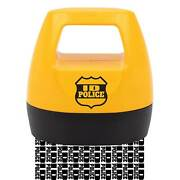 As Seen On Tv Larger Id Police Double Wide Identity Protection Roller Stamp