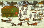 Country Race Rare Artist Proof Sold Out Edition By Charles Wysocki