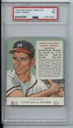 1954 Red Man Tobacco Andy Pafko 8 Psa 7